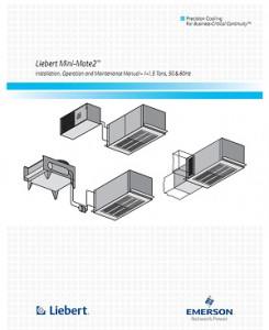Liebert-Mini-Mate2-Installation-Operation-and-Maintenance-Manual-1-1.5-Tons-50-60Hz