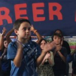 EMA Drive Technician gets his chance at son's school career day.